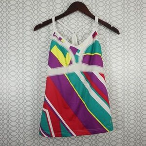 Fila Sport Colorful Workout Tank with Bra [A-71]